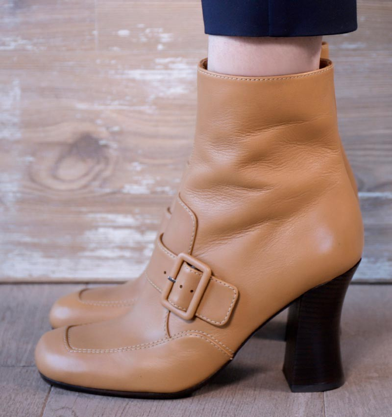 FENCI BROWN CHiE MIHARA boots