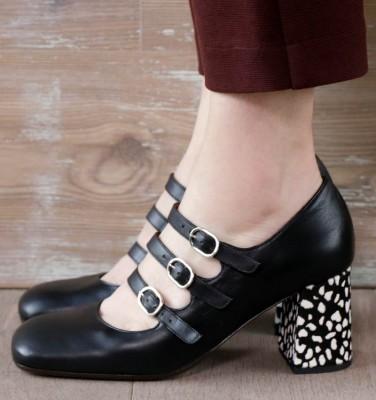 PINTA BLACK CHiE MIHARA shoes