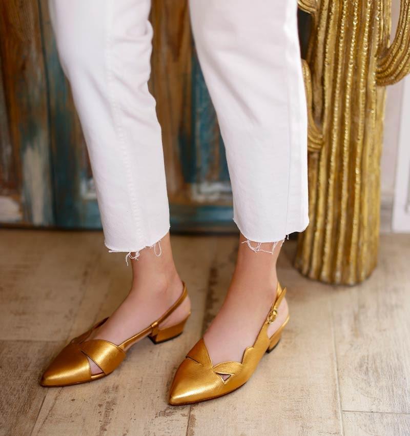 RUNE COPPER CHiE MIHARA zapatos