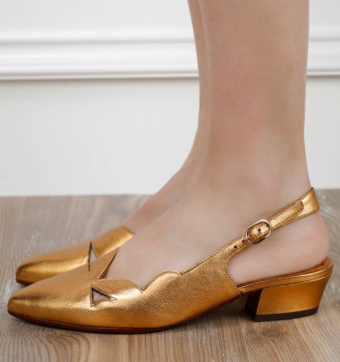 RUNE COPPER CHiE MIHARA shoes