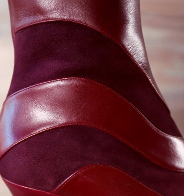 ABE GRAPE CHiE MIHARA boots
