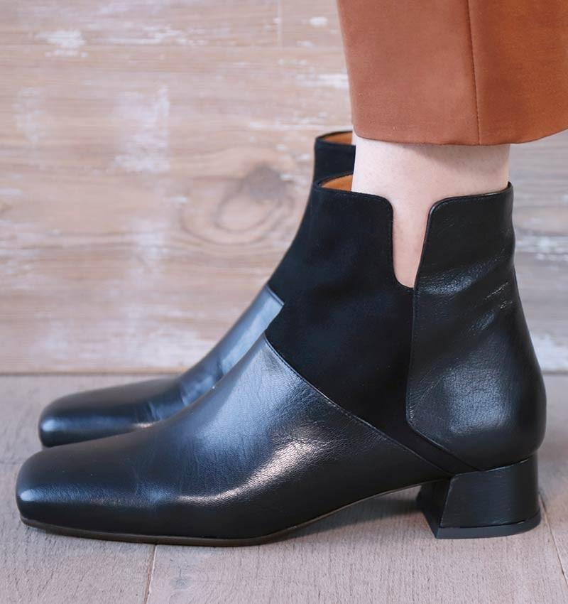 RENZO BLACK CHiE MIHARA boots
