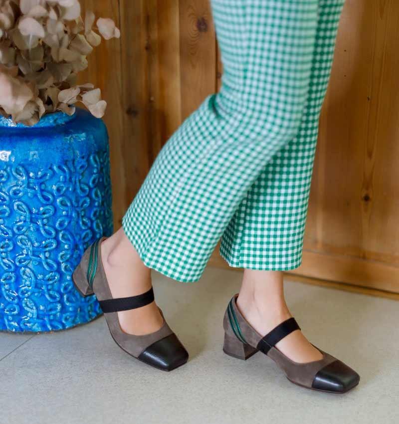 RAKI BLACK CHiE MIHARA shoes