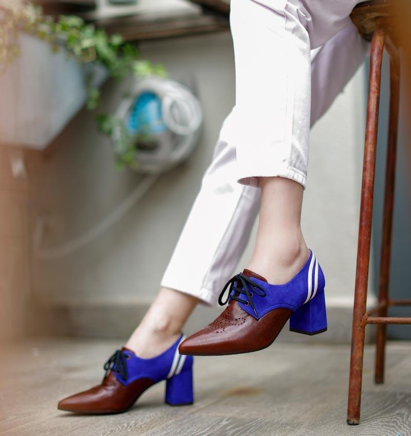QUENDO PURPLE CHiE MIHARA zapatos