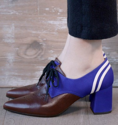 QUENDO PURPLE CHiE MIHARA shoes