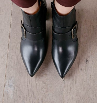 QUENCA BLACK CHiE MIHARA botas