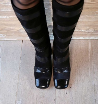 PAMPA BLACK CHiE MIHARA boots