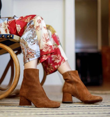 MILAGROS BROWN CHiE MIHARA boots