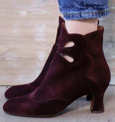 AURA GRAPE CHiE MIHARA boots
