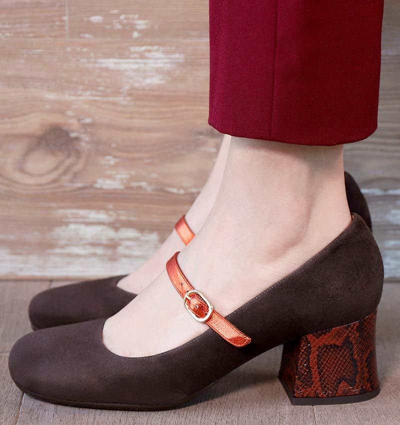 MELIZA BROWN CHiE MIHARA chaussures