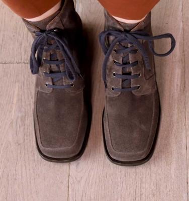 BANDO GREY CHiE MIHARA boots