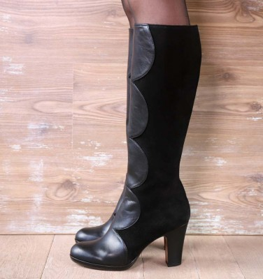 CIAO BLACK CHiE MIHARA boots