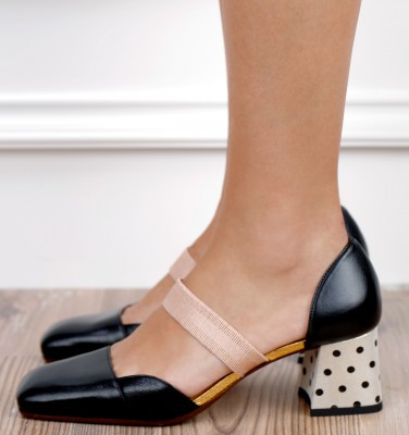 VOLAN BLACK GOLD CHiE MIHARA shoes