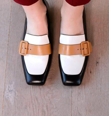 REVA BLACK CHiE MIHARA shoes