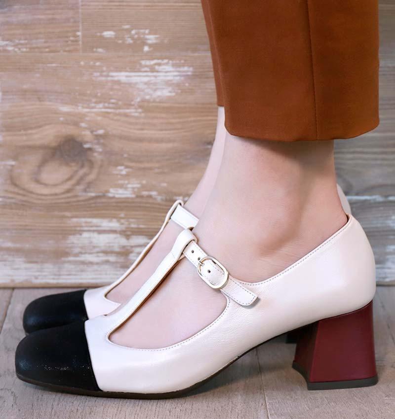 VODY OFF-WHITE CHiE MIHARA zapatos