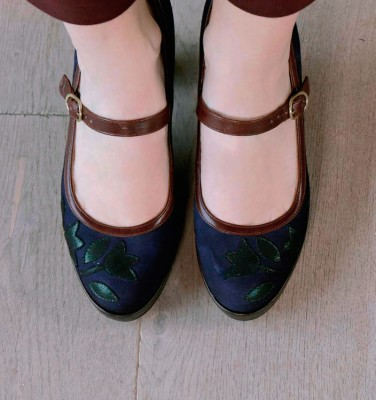 JOSS BLUE CHiE MIHARA shoes