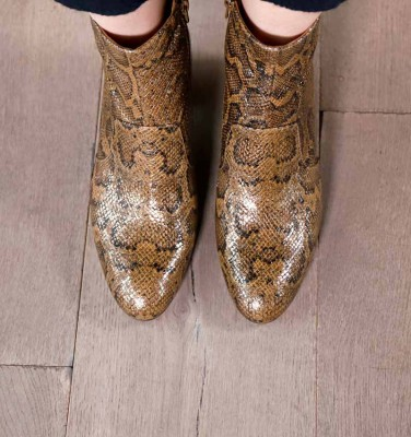 NU-NERINA SAND CHiE MIHARA boots