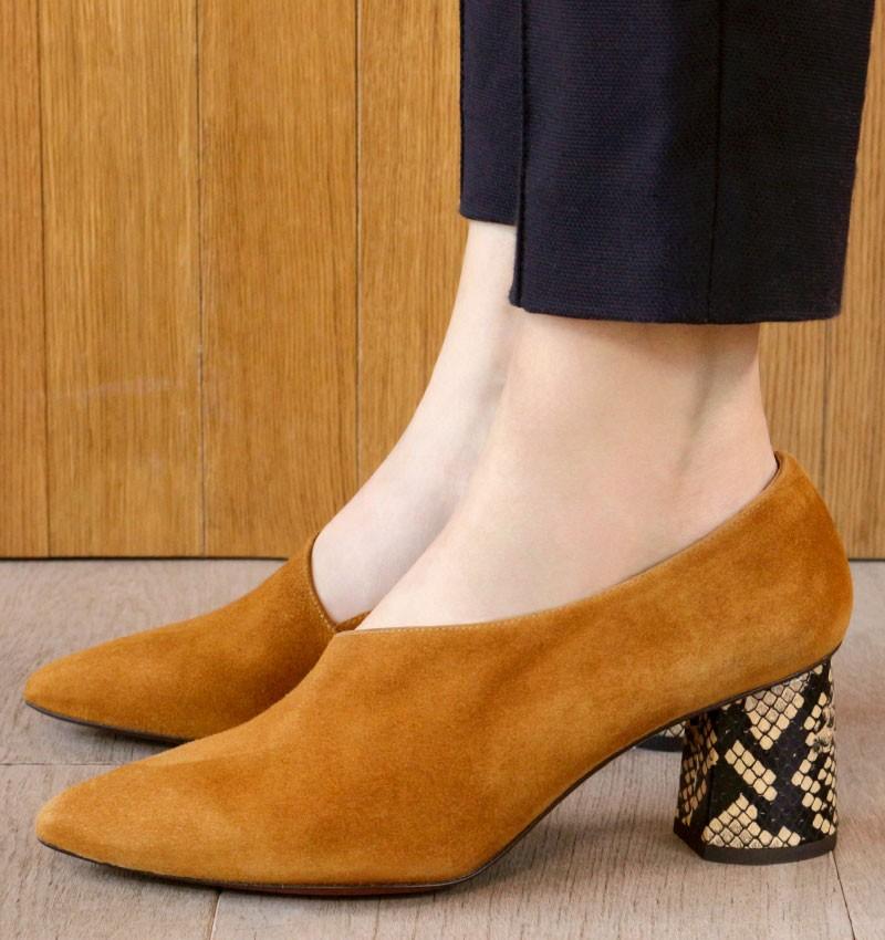 LOA COGNAC CHiE MIHARA shoes