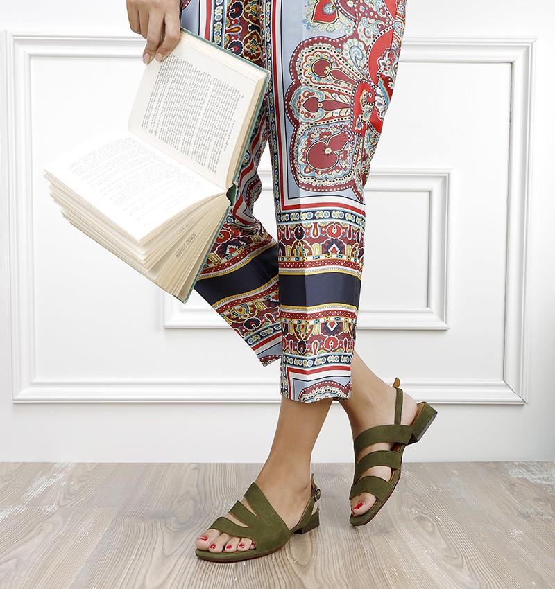 TEDAN KHAKI CHiE MIHARA sandals