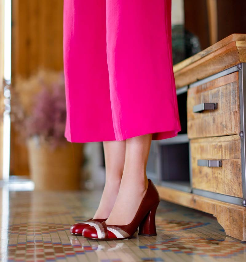 FEVIA RED CHiE MIHARA shoes