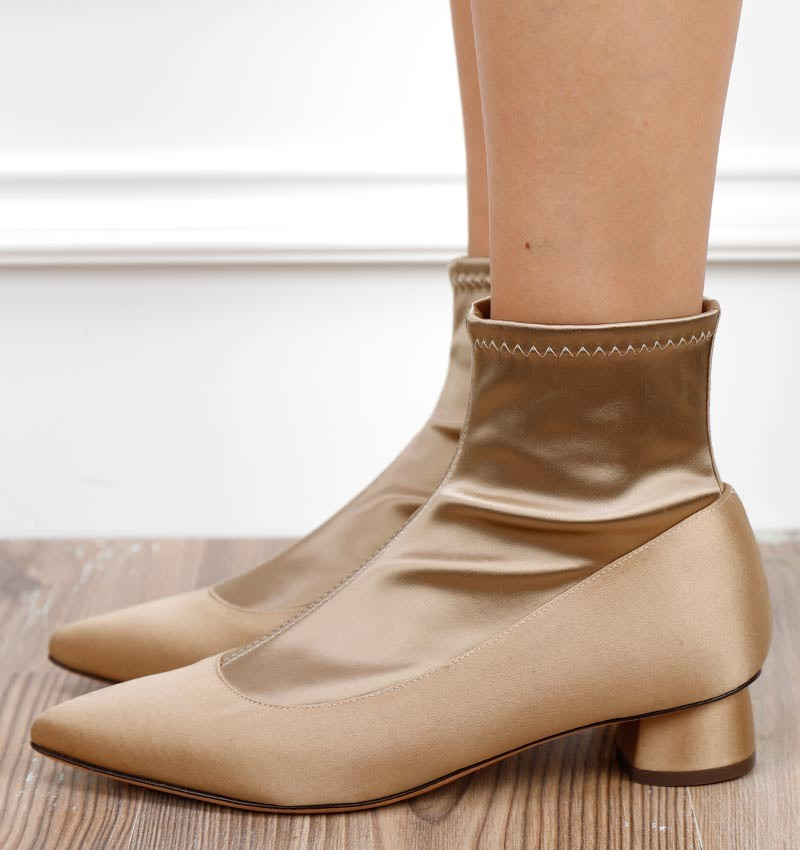 SALVIA GOLD CHiE MIHARA boots