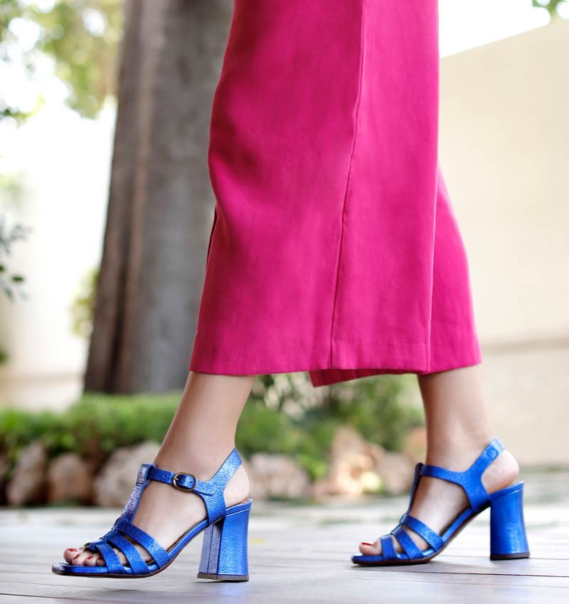 PAXI BLUE CHiE MIHARA sandals