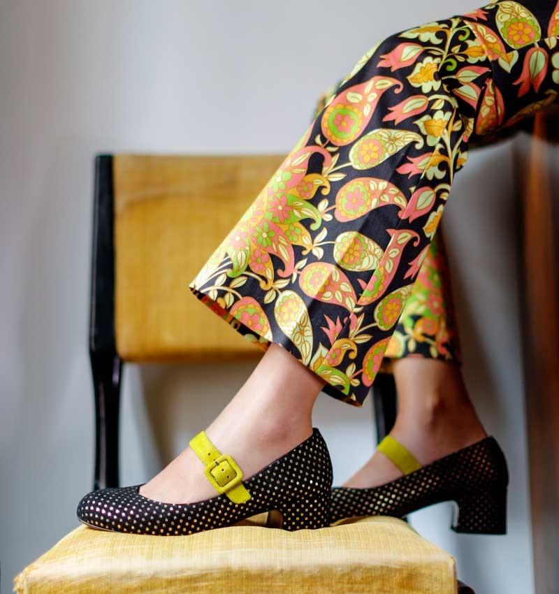 ULMER BLACK CHiE MIHARA shoes