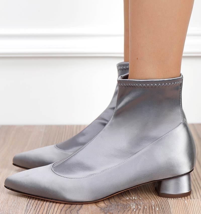 SALVIA SILVER CHiE MIHARA boots