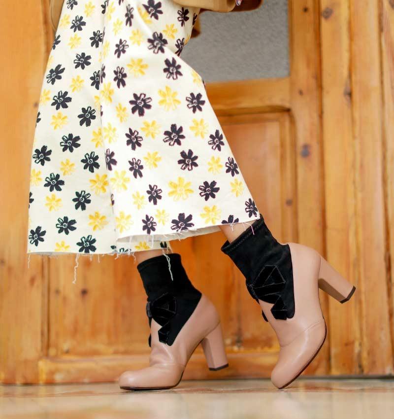 KISA LIGHT BROWN CHiE MIHARA boots