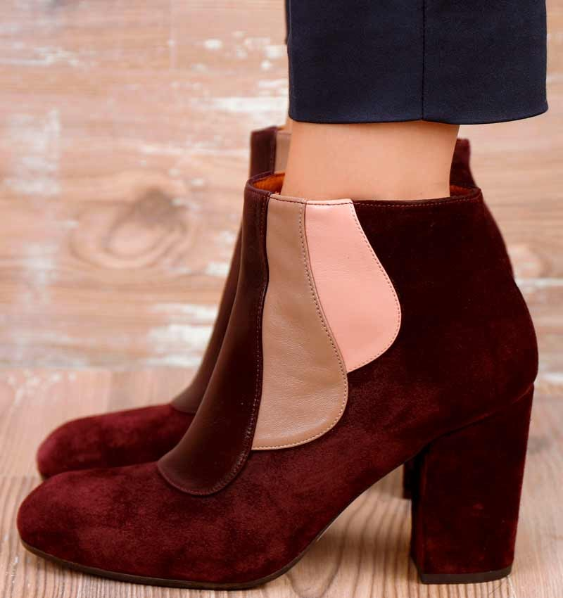 GOL GRAPE CHiE MIHARA boots